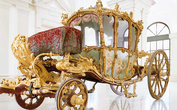 Le «Golden Carriage» dans le Gartenpalais Liechtenstein
