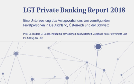 Anlegerstudie: LGT Private Banking Report