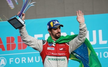 Lucas di Grassi took second in Punta del Este  (Copyright: Audi Communications Motorsport / Michael Kunkel)