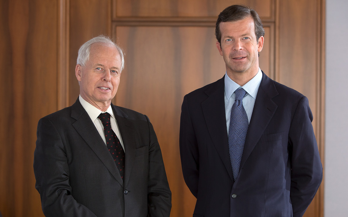 Successful families have strong structures: H.S.H. Prince Philipp and H.S.H. Prince Max of Liechtenstein on successful succession.