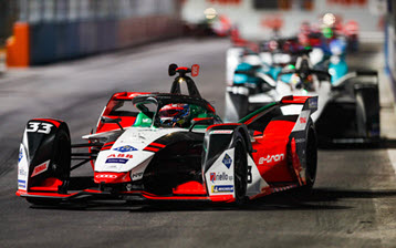 Strong debut for the Audi e-tron FE07