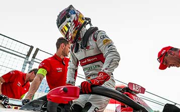 Audi reaches for Formula E lead in Rome