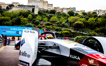 Formula E: No race luck in Monaco